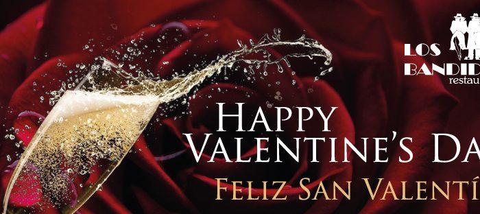 Los bandidos celebra SAn Valentín, un lugar acogedor y emblemático