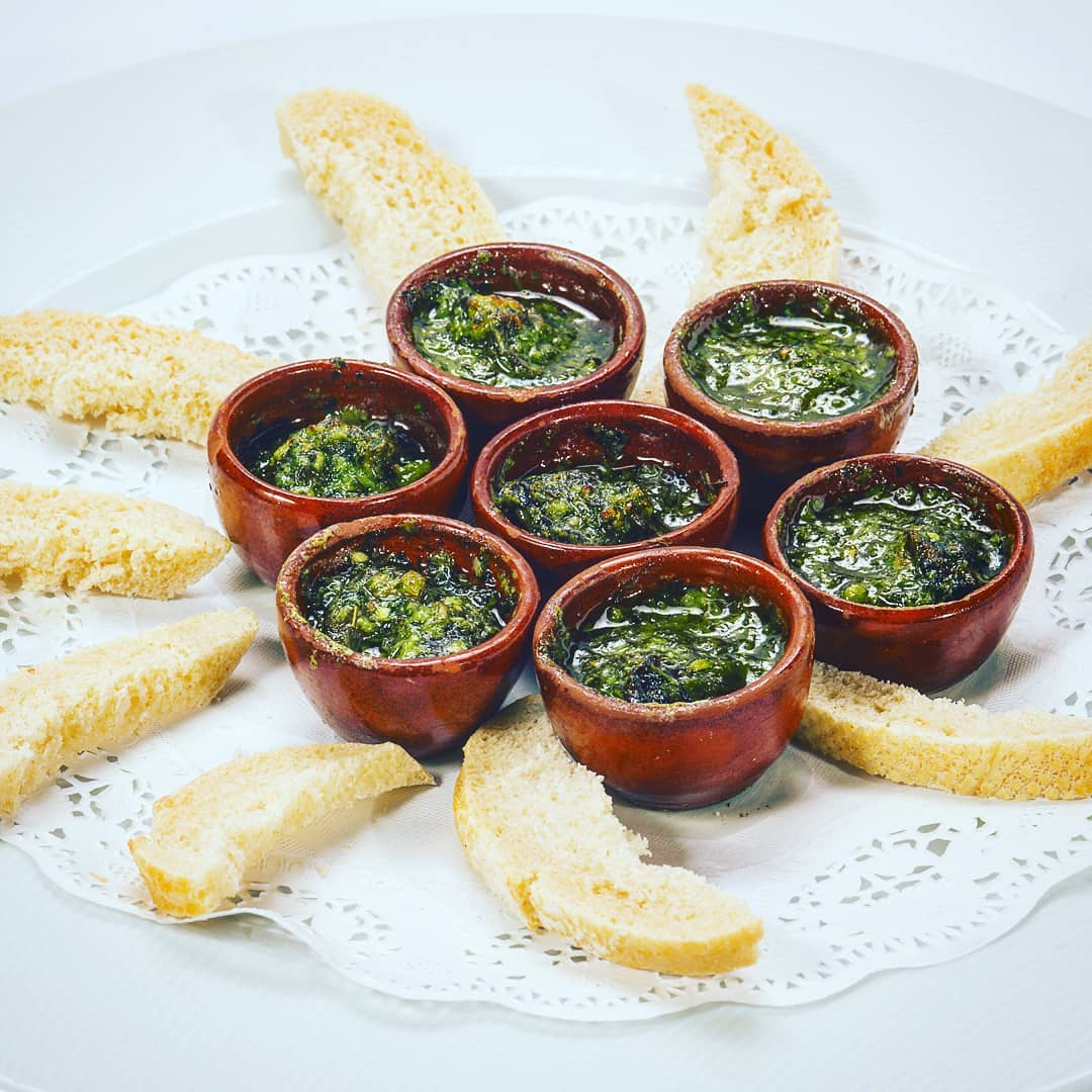 Escargots Bourguignonne, Restaurante Los Bandidos.