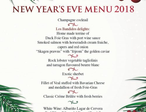 Los Bandidos embraces 2019 with a very Special New Year's Eve Menu