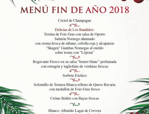 Los Bandidos abraza 2019 con un menú de fin de año muy especial